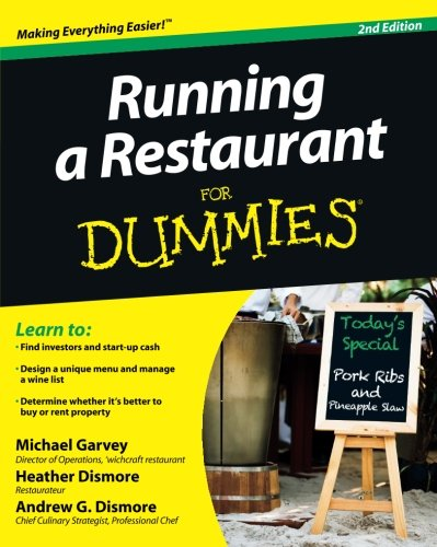 Running a Restaurant For Dummies (Business Restaurant compare prices)