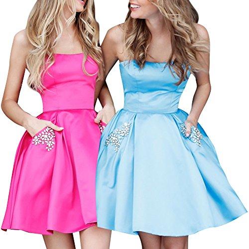 hot pink dress shorts - 6