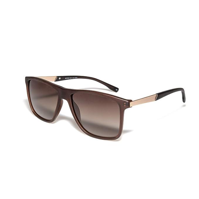 Amazon.com: O-O Gafas de sol polarizadas retro para hombres ...