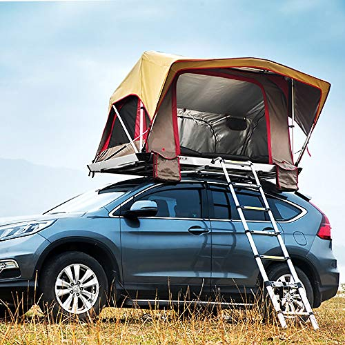 XPHW Car Roof Tent – Automotive Rooftop Tent , Waterproof – Quick Open – Suitable For 2-3 Adults Camping And Traveling
