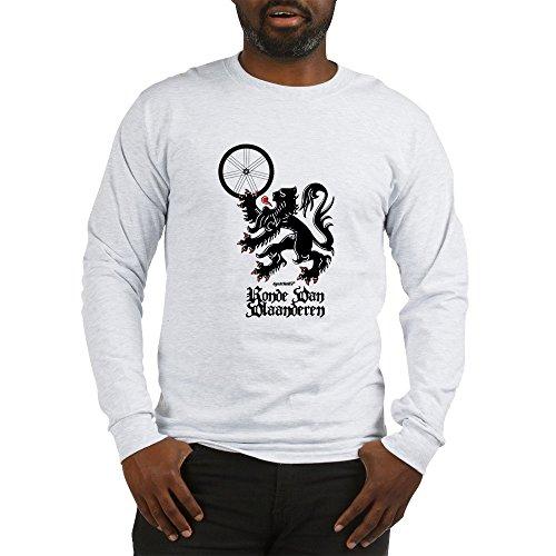 CafePress Tour of Flanders Lion Unisex Cotton Long Sleeve T-Shirt Ash Grey ()