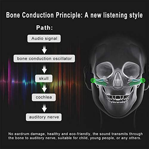 AIMCAE Audio Lunettes de Soleil Casque à Conduction osseuse