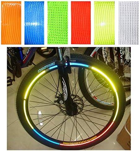 LMIAOM Neumático de la Rueda del Coche Fluorescente Bicicleta ...