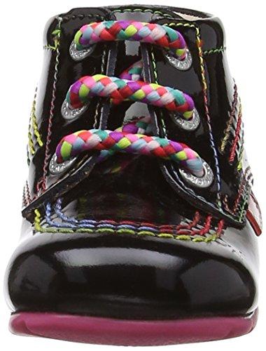 Kisses Kick Hi B, Zapatos de primeros pasos Infantil, NULL, Negro