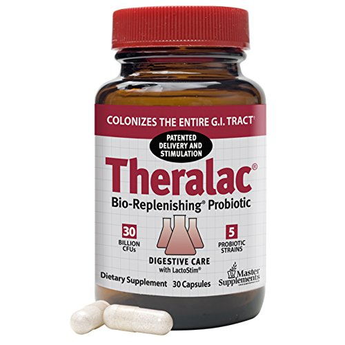 Master Supplements Theralac Probiotic, 30 Billion CFU, 30 (Probiotic Master Supplement)