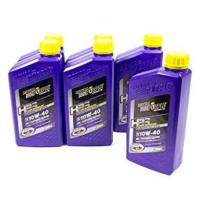 Royal Purple HPS 10W40 Motor Oil 1 qt Case of 6 P/N 36140