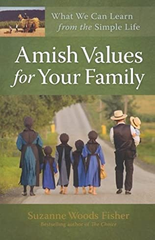 book cover of Amish Values for Your Family