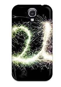 New Snap-on CaseyKBrown Skin Case Cover Compatible With Galaxy S4- 2012 Happy New Year