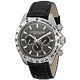 Stuhrling Original Men's 564L.01 Triumph Swiss Quartz Multifunction Grey Dial Watch