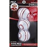 Pelz Golf DP4016 O-Ball, 3-Pack