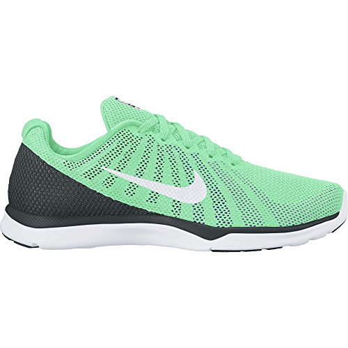 Nike Dames In Het Seizoen Tr 6 Cross Training Schoen Groen Glow / White / Urban Lila / Force Purple