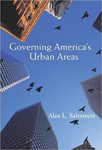 Book Governing America's Urban Areas by Saltzstein, Alan L.(August 2, 2002)