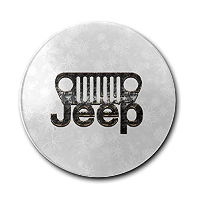 JFD Jeep Steel American Brand Car Bar Drink Ceramic Coaster Furniture