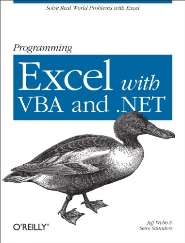 Download Programming Excel with VBA and .NET Pdf