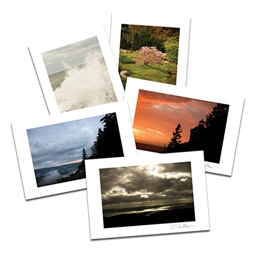 4 Assorted Prints (Acadia National Park, Maine. Postcard Prints. Assorted 10 Pack, 4x6, 2 of Each. Best Quality Birthday Cards, Thank You Notes & Invitations. Unique Mother's Day, Christmas & Valentine's Day Gifts.)