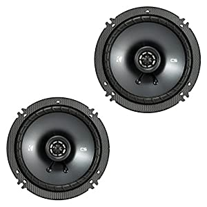 "Kicker CSC65 6.5"" 2 Way 300W 4 Ohm Coaxial Car Audio Speakers, Pair 