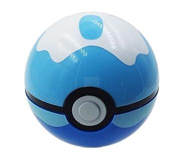 25quot Pokemon Pop Open Dive Ball Plus Yellow Pikachu Plastic Minifigure Collectible Toys