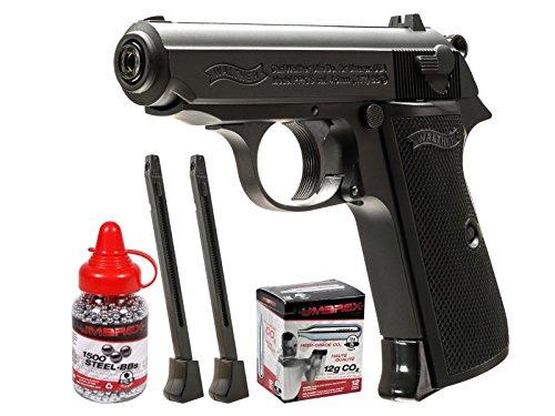 (Walther Legends PPK/S Black BB Pistol Kit air pistol)