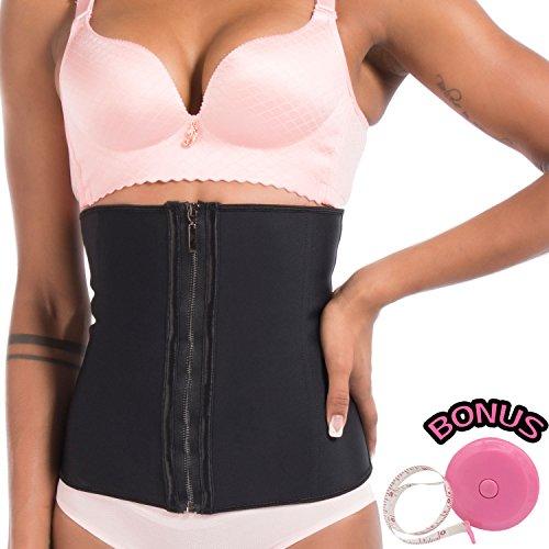 Waist Corset Body Shaper (Pink) - 8