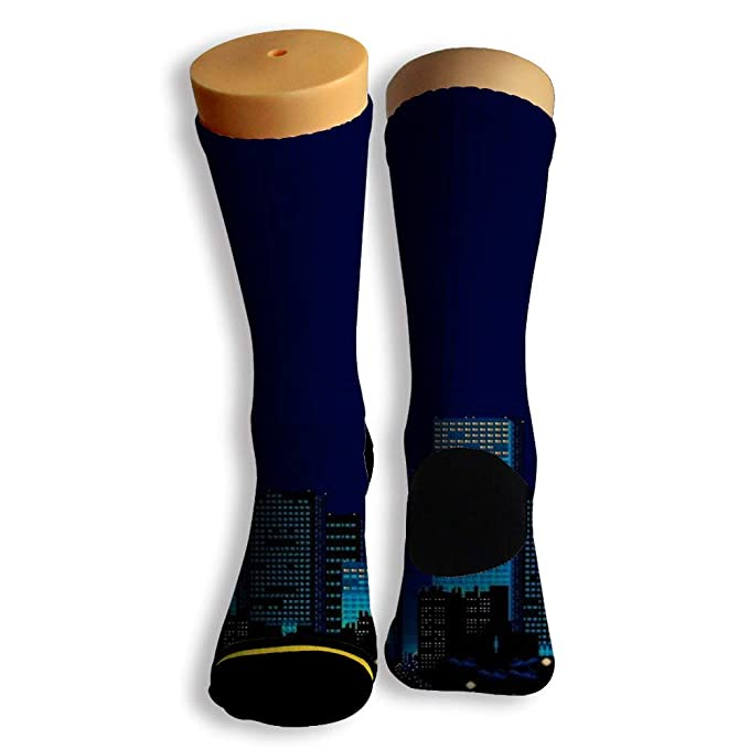 Basketball Soccer Baseball Socks by Potooy Tall Skyscraper