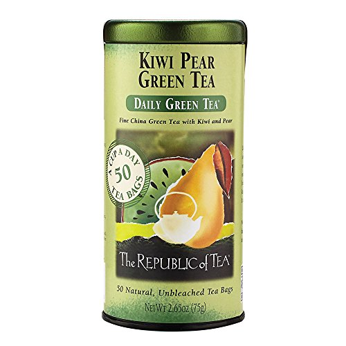 The Republic of Tea, Kiwi Pear Tea, 50-Count
