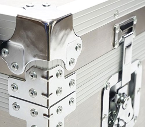 VIN Steel Plated Trunks - Argent Destination (Silver) by DormCo (Image #6)