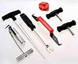 Professional 7PCS Auto Windshield Removal Tool Vehicle Disassembly Maintenance Set Wind Glass Gasket Adhesive Trim Remover Kit