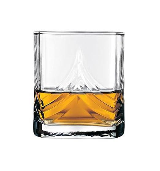 Pasabahce - Juego de 6 vasos de whisky: Amazon.es: Hogar