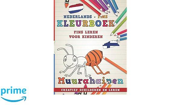 Kleurboek Nederlands - Fins I Fins leren voor kinderen I Creatief ...