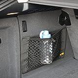 #6: 9 MOON Car Boot Cargo Net Magic Sticker Luggage Mesh Oganizer Bag For Acura ILX RDX MDX RL TL TSX ZDX MDX