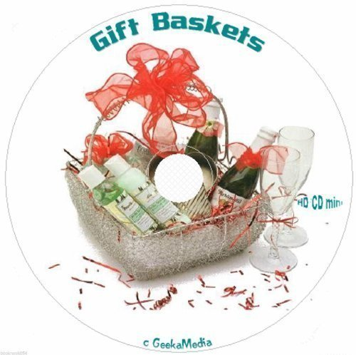 Gift Basket Business and 475 Basket Ideas 6 Books on cd