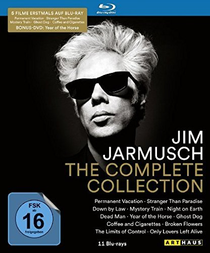 Jim Jarmusch Collection - 12-Disc Box Set ( Permanent Vacation / Stranger Than Paradise / Down by Law / Mystery Train / Night on Earth / Dead Man / [ NON-USA FORMAT, Blu-Ray, Reg.B Import - Germany ]