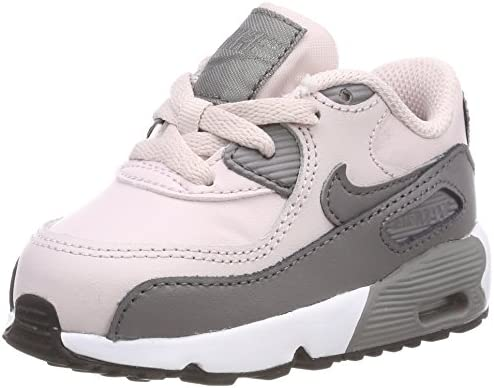 Nike Baby Girls' Air Max 90 Leather (td) Low Top Sneakers