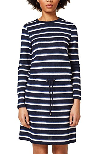 Femme Robe Esprit Navy 400 Multicolore SvzOw