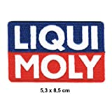 3-Pack LIQUI MOLY Racing Team Motorsport oil Moto GP Formula 1 F1 Racing Race jacket t shirt Polo Patch Sew Iron on Embroidered