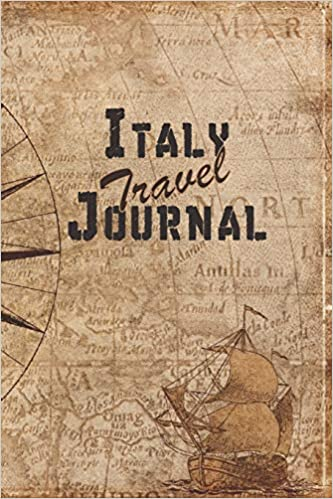 Italy Travel Journal: 6x9 Travel Notebook with prompts and Checklists