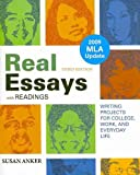 Real Essays with Readings 3e with 2009 MLA Update and Make-a-Paragraph Kit and paper Dictionary, Anker, Susan, 0312609094