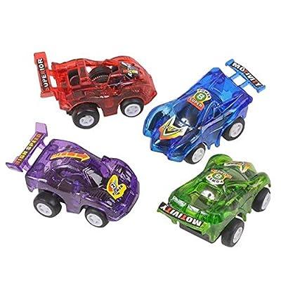 Rhode Island Novelty FBA_VEPULL3 12 Pull Back Racer Cars: Toys & Games