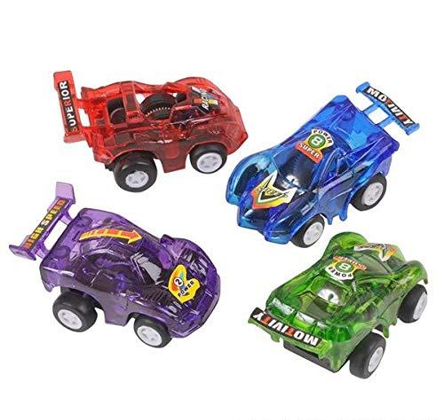 Rhode Island Novelty FBA_VEPULL3 12 Pull Back Racer Cars