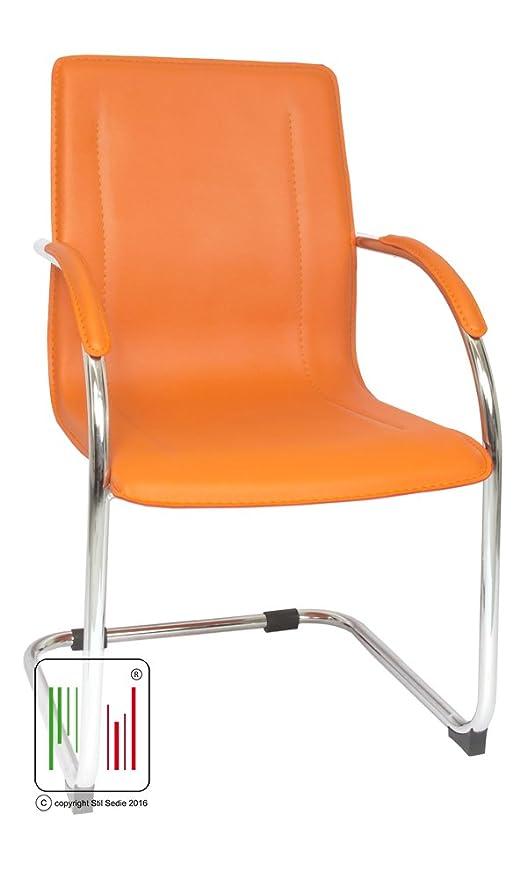 Sedie Da Ufficio Arancione.Sedie Da Ufficio Amazon