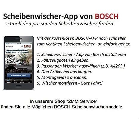 CZ Bosch Scheibenwischer Vorne Hinten MITSUBISHI Colt 605 H304