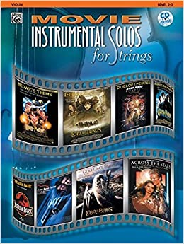 Amazon.com: Movie Instrumental Solos for Strings: Violin, Book ...