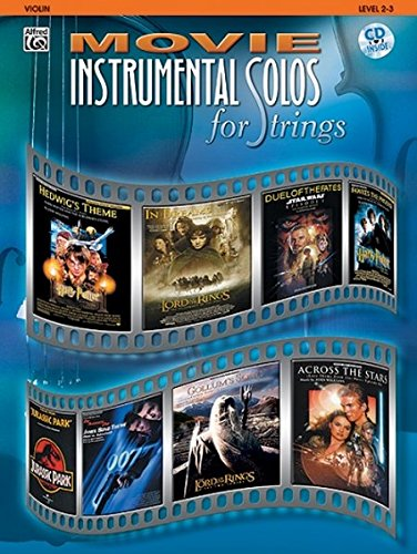 Movie Instrumental Solos for Strings: Violin, Book & (Music Solo Instrument)