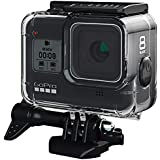 FitStill 60M Waterproof Case for GoPro Hero 8 Black, Protective Underwater Dive Housing Shell with Bracket Accessories for Go Pro Hero8 Action Camera