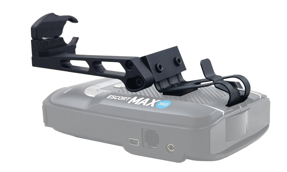BlendMount BMX-2027 Corvette C7 Aluminum Radar Detector Mount for Escort Passport Max/Max2/Max360/GT-7. Patented Design - Made in USA - Looks Factory Installed