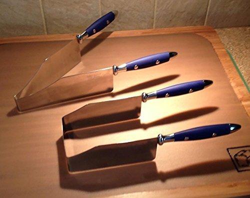 Debbie Meyer Kake Kutr U and V Shaped, Blue, Set of 2