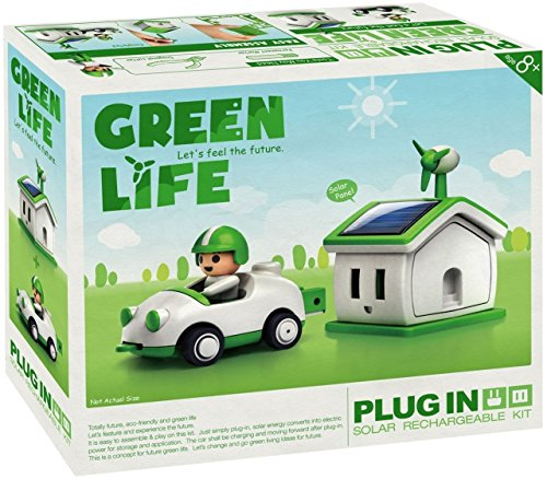 Elenco OWI-MSK690, Owi Green Life Plug-in Solar Rechargeable Kit, 12 Kits