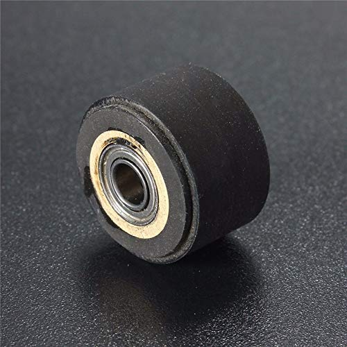 Kul-Kul - 3pc Pinch Roller Wheel For Roland Mimaki Graphtec Vinyl Cutter Printer Cutting Plotter Rubber Pressure Wheel Bearing Copper Core