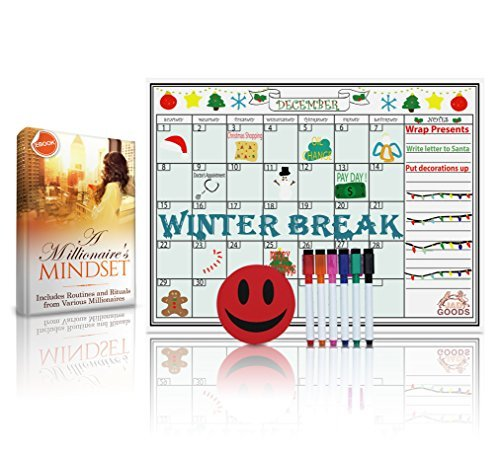 Magnetic Dry Erase Monthly Calendar product image