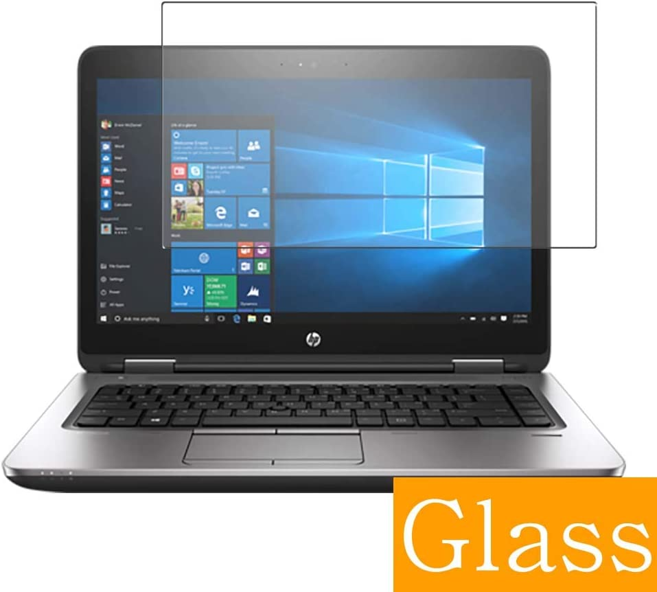 """Synvy Tempered Glass Screen Protector for HP ProBook 640 G3 14"""" Visible Area Protective Screen Film Protectors 9H Anti-Scratch Bubble Free"""